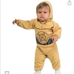 Star Wars C3PO Baby Costume